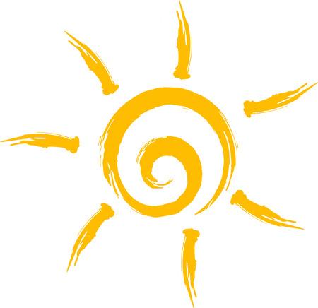 Illustration pour Sun icon - image libre de droit