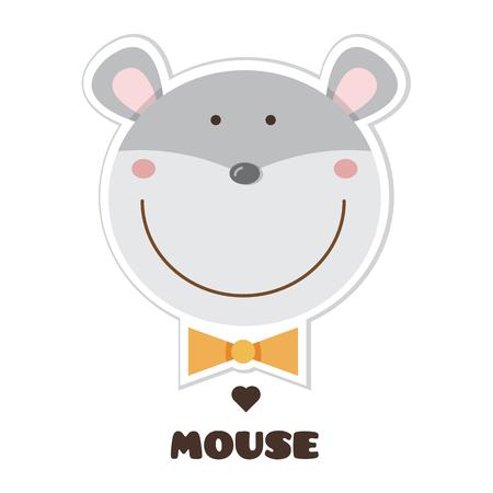 Ilustración de Cartoon mouse image illustration - Imagen libre de derechos