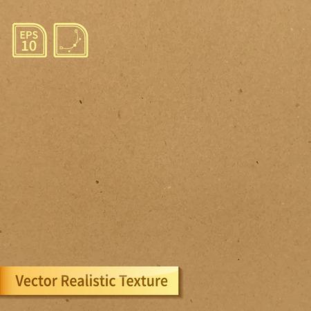 Ilustración de Vector soft clean cardboard texture. Photo texture for your design - Imagen libre de derechos