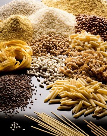 pasta rice cereals and legumes