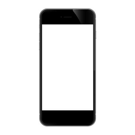 Ilustración de phone isolated on white vector design - Imagen libre de derechos