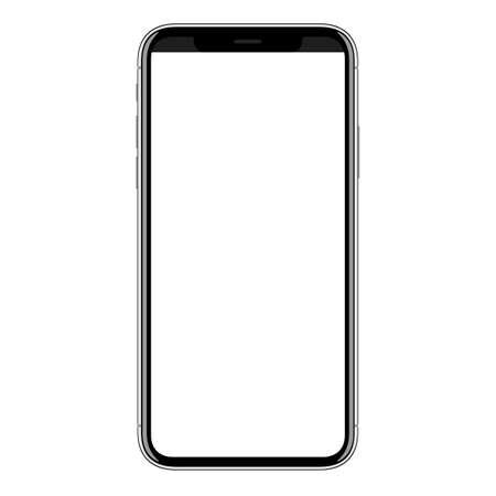 Illustration pour new smart phone mobile vector drawing on white background - image libre de droit
