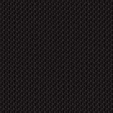 Illustration pour Carbon fiber texture. Seamless vector luxury texture. Technology abstract background. - image libre de droit