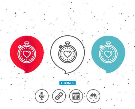 Ilustración de Speech bubbles with symbol. - Imagen libre de derechos