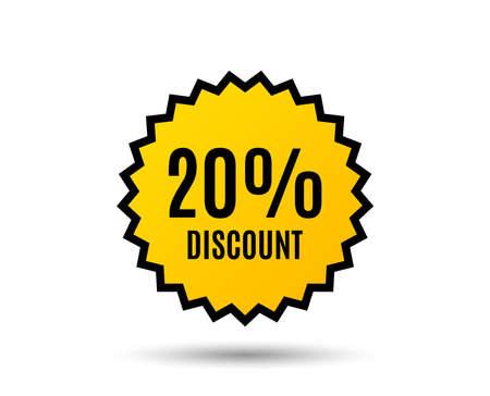 Ilustración de Sale offer price sign and a  Special offer symbol. - Imagen libre de derechos