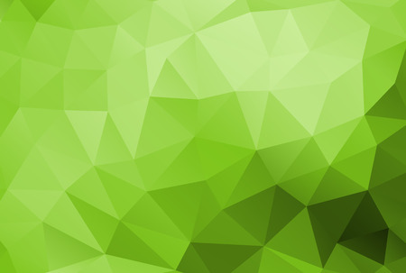 Illustration pour Abstract polygonal background vector green - image libre de droit