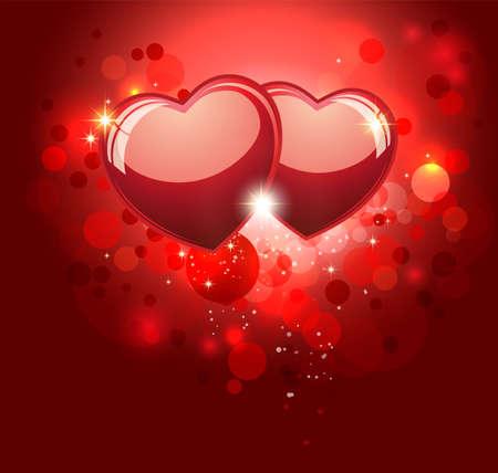 Photo pour Valentine Red Background   - image libre de droit