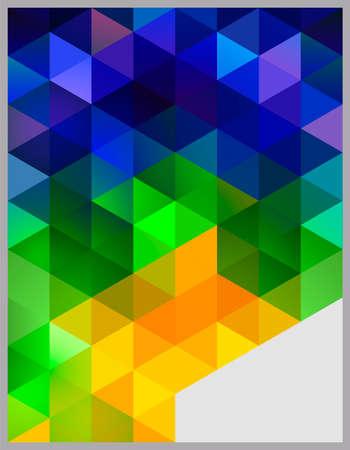 Photo pour Abstract Geometric Background - image libre de droit