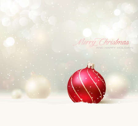 Illustration for Elegant Christmas Card/Background - Royalty Free Image