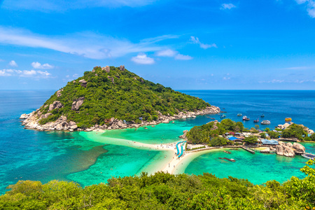 Photo for Nang Yuan Island, Koh Tao, Thailand in a summer day - Royalty Free Image