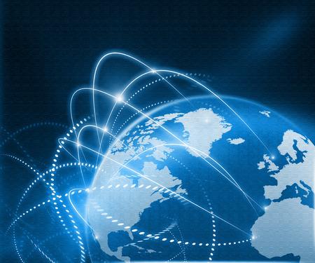 Foto de Global business network - Imagen libre de derechos