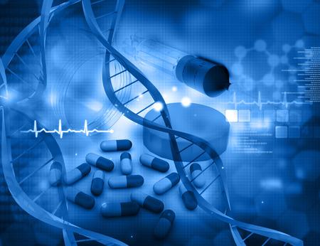 Photo pour health care background - image libre de droit