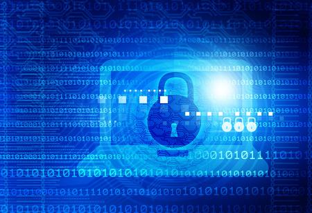 Foto de Digital background of Internet Security - Imagen libre de derechos