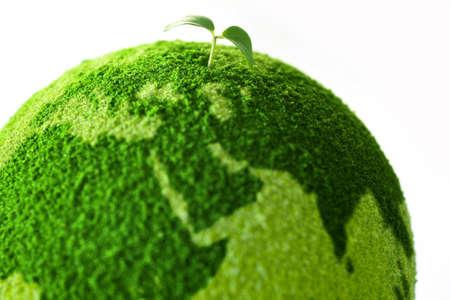 Foto de Planet with tree and Sprout - Imagen libre de derechos