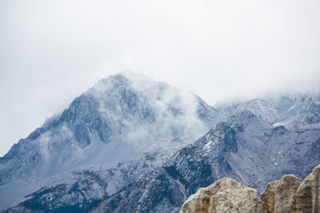 Photo for Jade Dragon Snow Mountain of China - Royalty Free Image