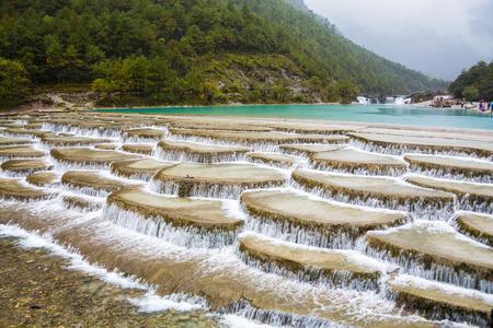 Photo pour Yunnan China Blue Valley scenery - image libre de droit