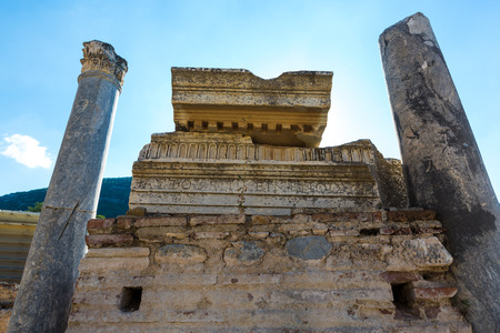 Photo for Ruins of the Turkey Ephesus site - Royalty Free Image