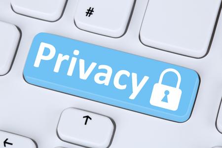 Foto de Privacy computer security on the internet lock icon data protection - Imagen libre de derechos