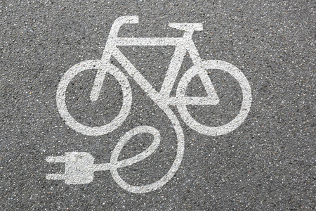 Photo pour E-Bike E Bike Ebike electric bike electro bicycle eco friendly transport - image libre de droit