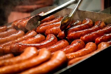 Foto de Crackers on the grill - Imagen libre de derechos