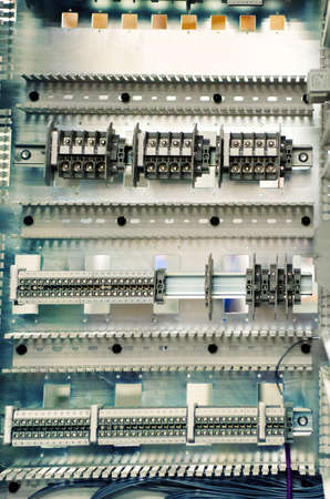 Communication control-circuit industrial electrical panel