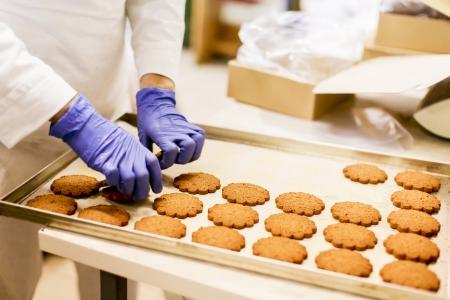 Photo pour Cookies factory - image libre de droit