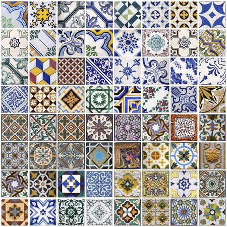 Photo pour Traditional tiles from Porto, Portugal - image libre de droit