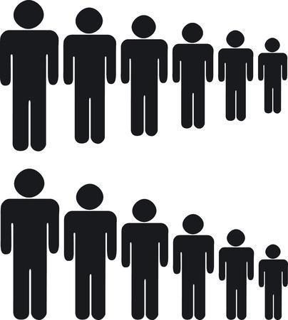 Ilustración de People - Imagen libre de derechos