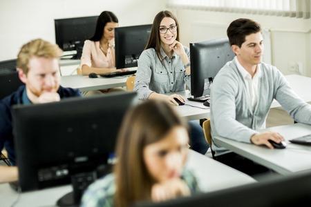 Foto de Students in the classroom - Imagen libre de derechos