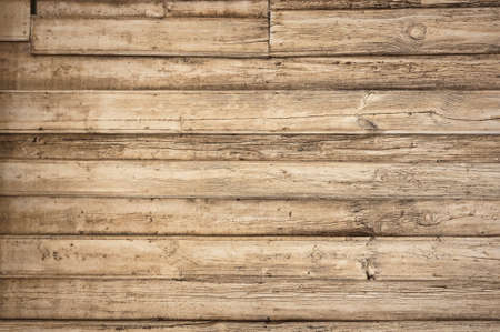 Photo for old wooden background with horizontal boards - Royalty Free Image