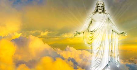 Foto de Jesus Christ in Heaven religion concept - Imagen libre de derechos