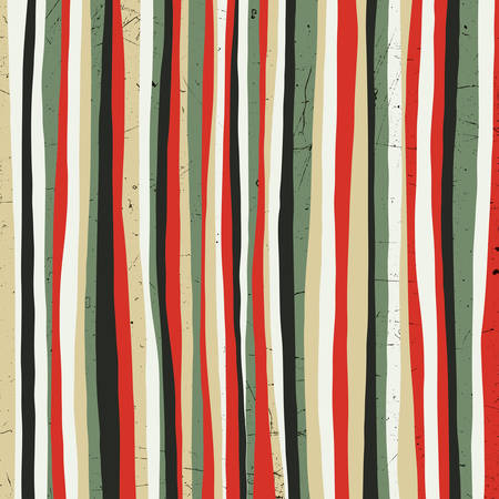Illustration pour Red stripes. Grunge background - image libre de droit