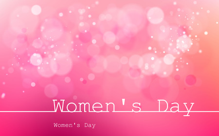 Illustration pour International Womens Day on March 8. Used for dackgrounds, illustrations, images and vectors and icons. - image libre de droit