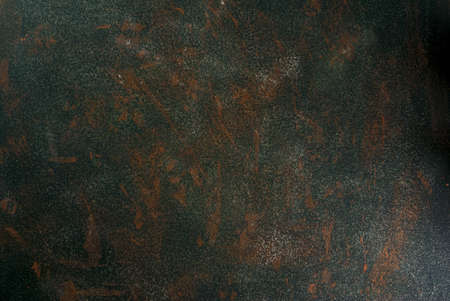 Photo pour Stone or concrete green old rusty background, wall, table top view copy space - image libre de droit