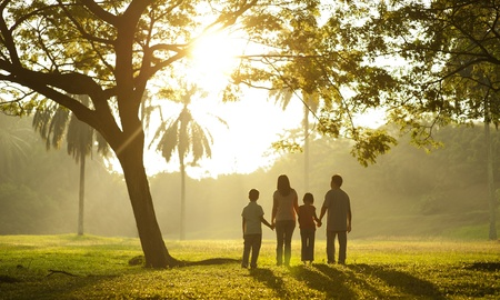 Photo for Family holding hands - Royalty Free Image
