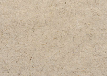 Photo for Brown handmade paper fiber grain texture background - Royalty Free Image