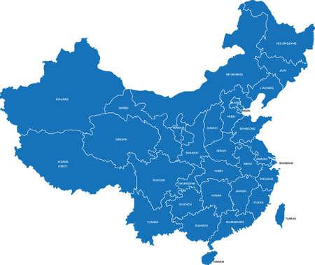 Ilustración de China Map - Imagen libre de derechos