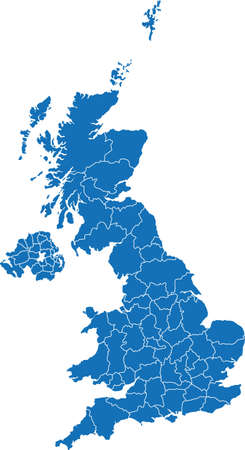 Illustration pour United Kingdom - image libre de droit