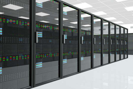 Foto de CPU Server Unit Room - Imagen libre de derechos