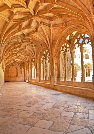 Cloister of Salamanca, Spain mural