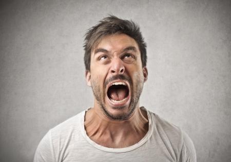 Foto de screaming shouting man  - Imagen libre de derechos