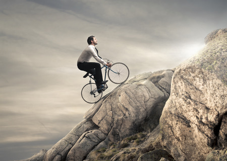 Foto de mountain biking - Imagen libre de derechos