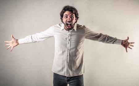Photo for yelling man - Royalty Free Image