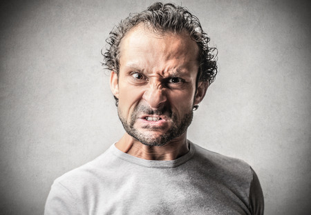 Photo for angry man - Royalty Free Image