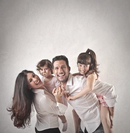 Foto per family - Immagine Royalty Free