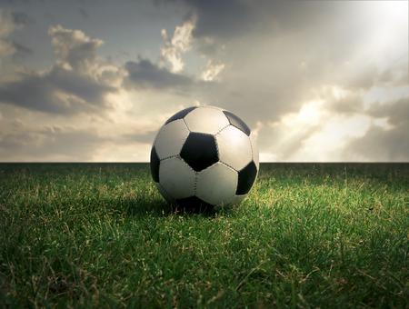 Photo pour Football - image libre de droit