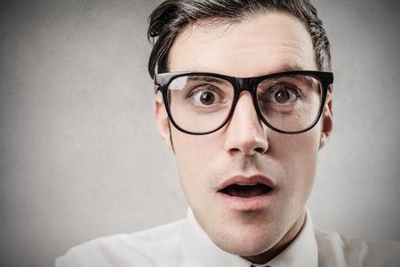 Foto de Surprised businessman - Imagen libre de derechos
