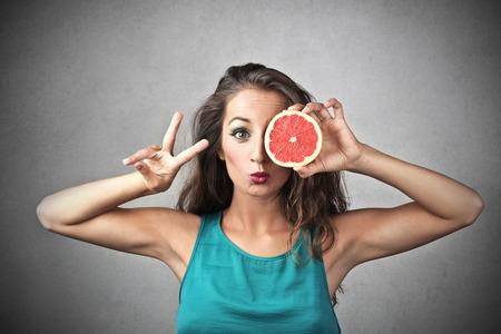 Photo pour Eating healthy - image libre de droit