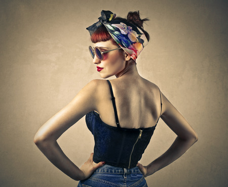 Photo for Pin up - Royalty Free Image