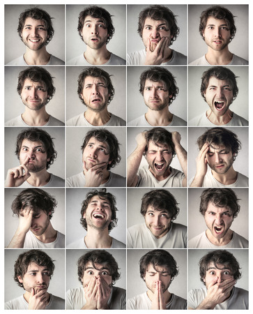 Photo for Different expressions - Royalty Free Image